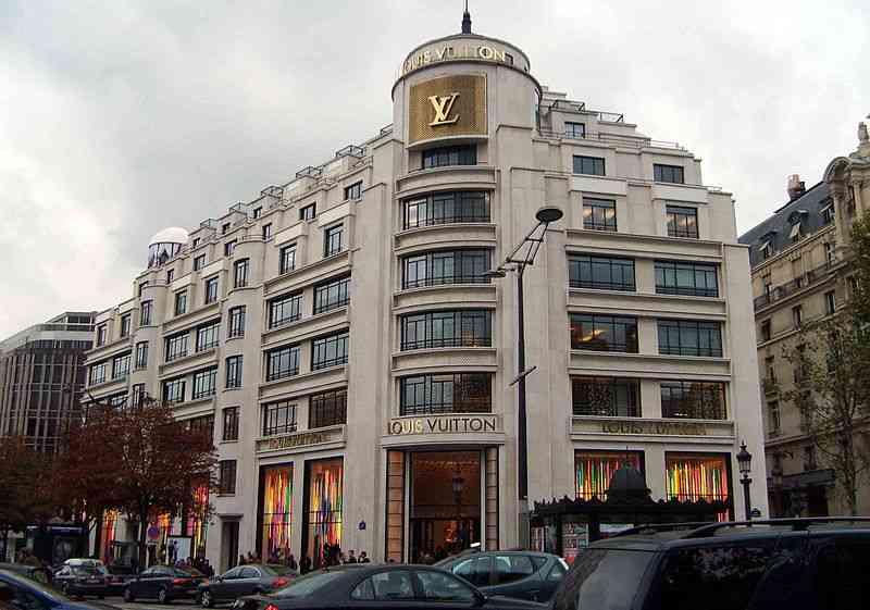 Louis Vuitton, Champs-Elysées Paris