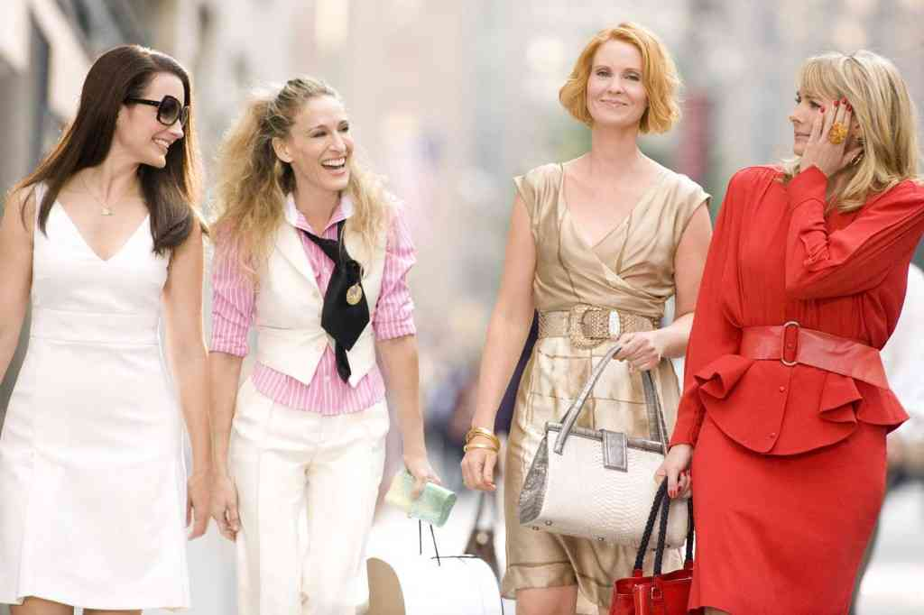 moda in sex and the city
