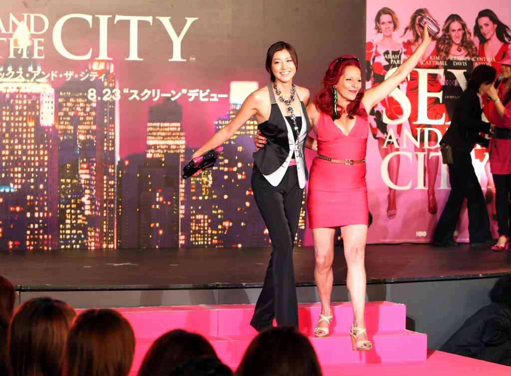 """""""Sex And The City"""" Japan Premiere"""