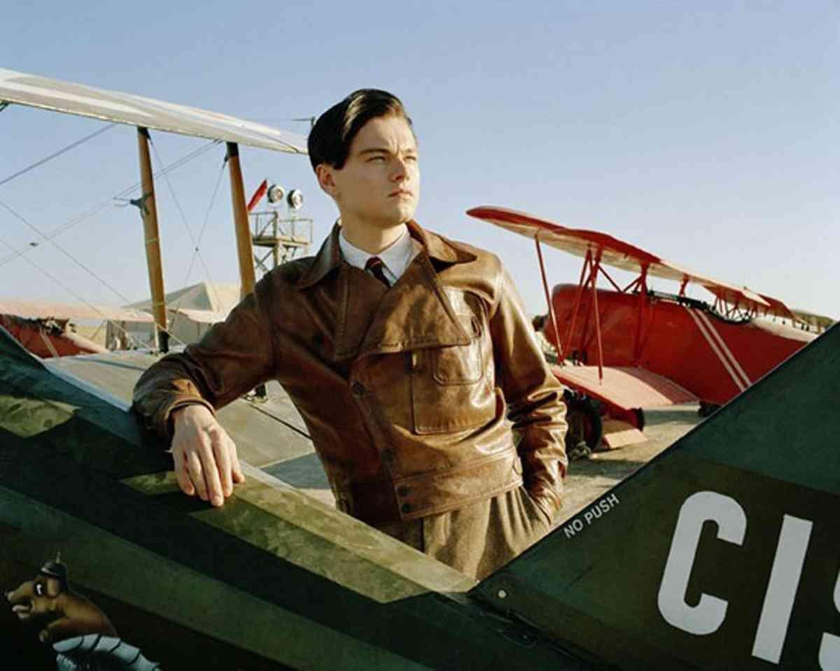 Leonardo Dicaprio in Aviator