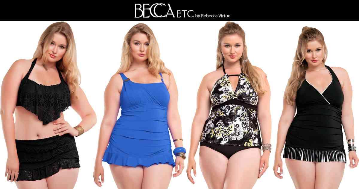 Colectia de costume de baie Becca Etc 2014 pentru femeile cu forme877