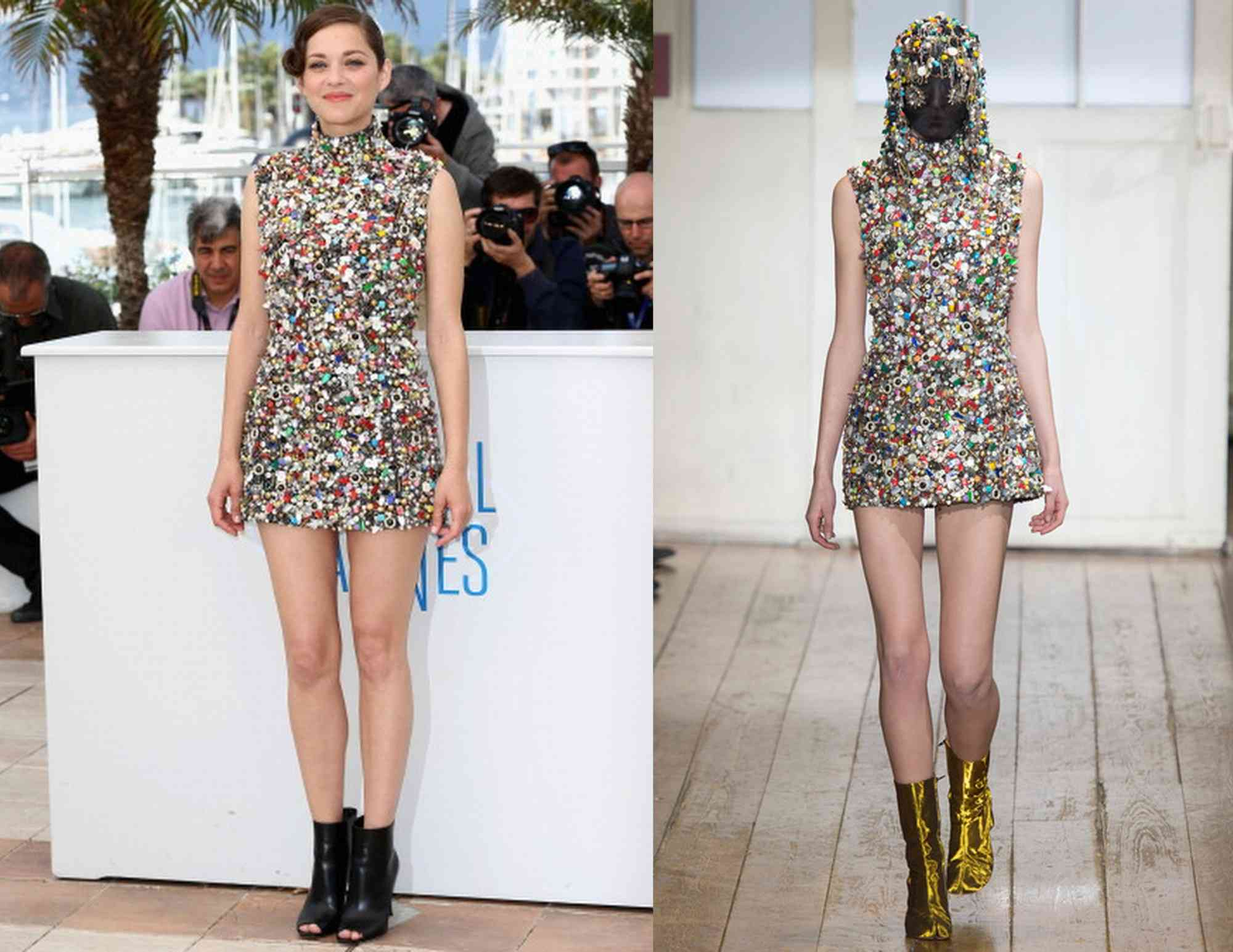 Marion-Cotillard-Maison-Martin-Margiela-Couture-Two-Days-One-Night-2014-Cannes-Film-Festival