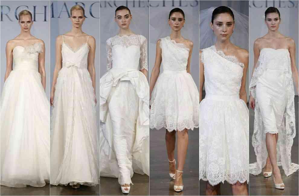 Colectia de rochii de mireasa Marchesa pentru 2014