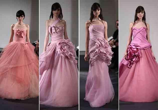 Colectia de rochii de mireasa Vera Wang pentru anul 2014