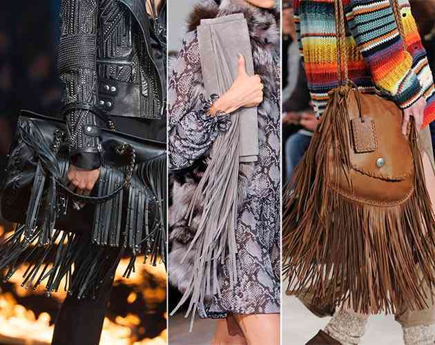 Fringed Bags