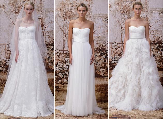 colecția Monique Lhuillier pentru rochii de mireasa 2014