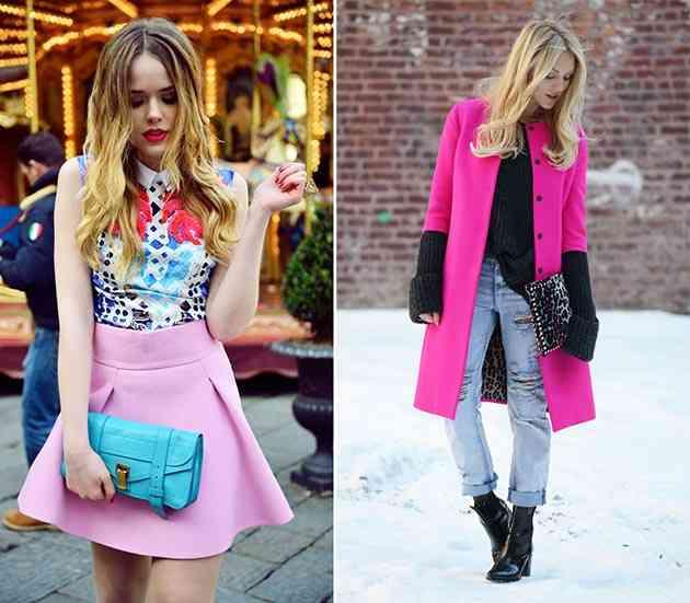 culori care se potrivesc cel mai bine parului blond_roz