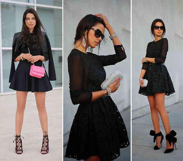 culori potrivite brunetelor_negru