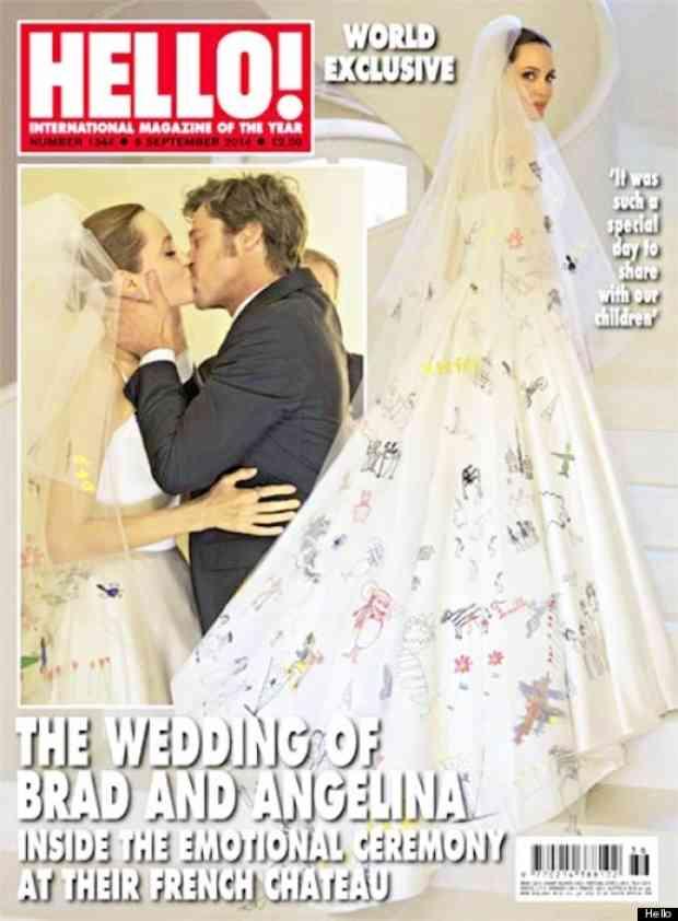 angelina jolie nunta rochie de mireasa