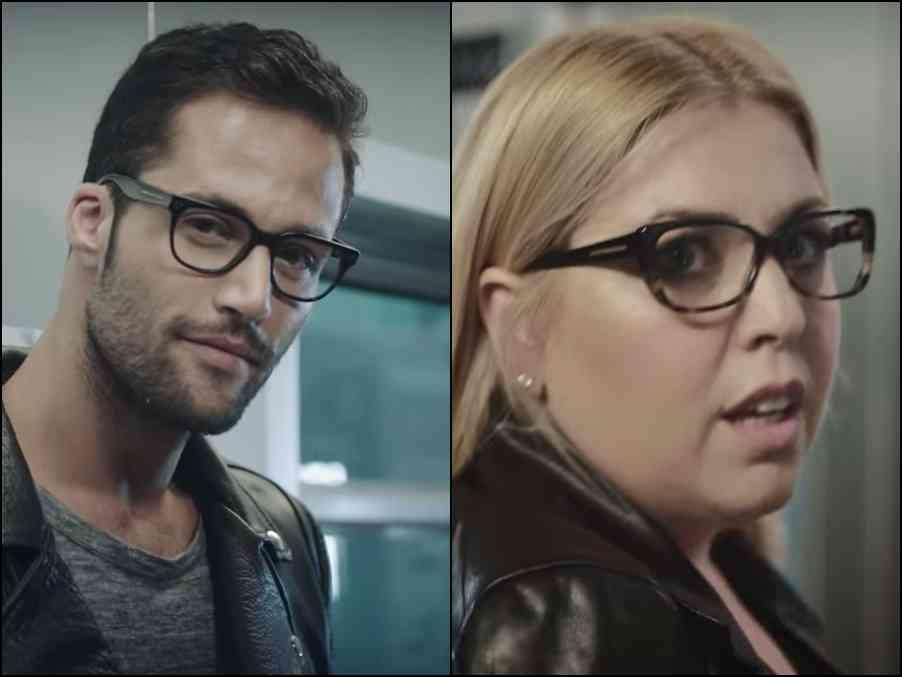 ceea ce vede cu ochelari