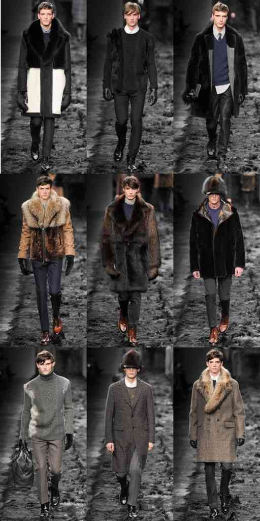 haine de blana barbati moda toamna iarna 2014