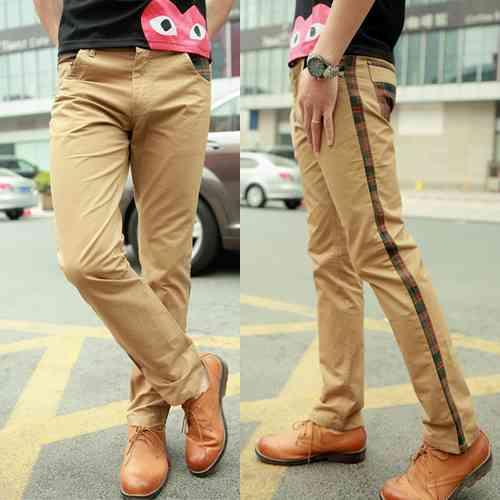 pantaloni cu vipusca barbati
