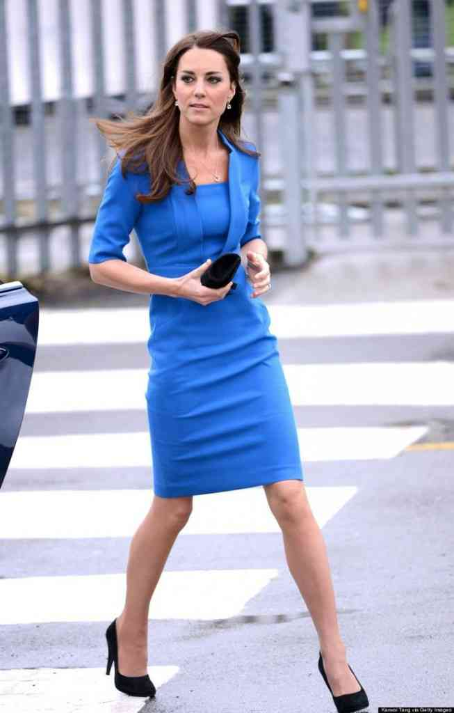 rochie albastra kate