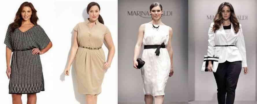 modele de rochii pentru femei grasute
