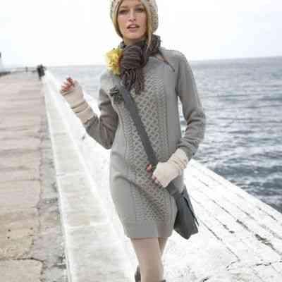 pulover rochie