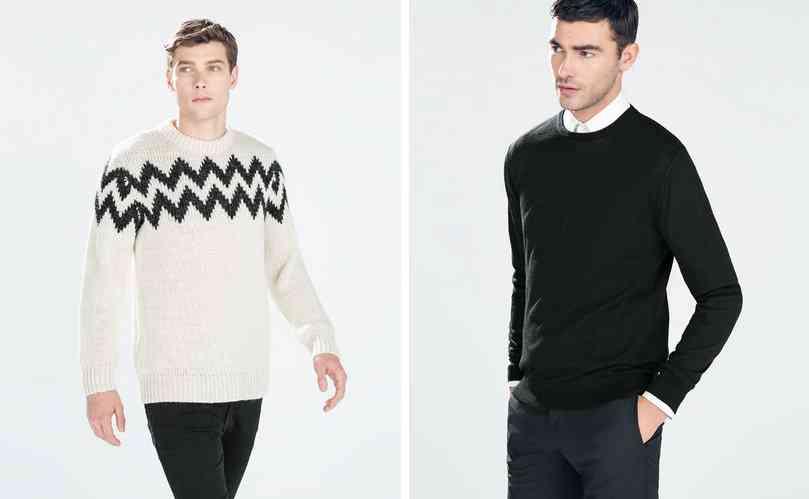 zara men pulovere