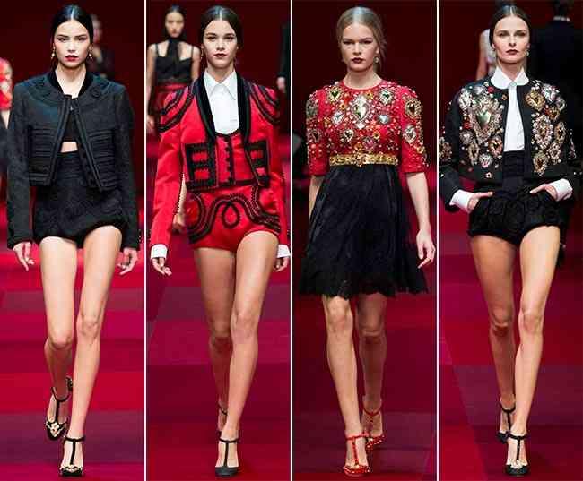 Colecția Dolce & Gabbana pentru primăvara-vara 2015 2