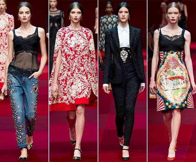 Colecția Dolce & Gabbana pentru primăvara-vara 2015 4