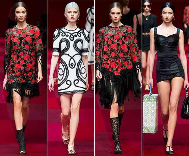 Colecția Dolce & Gabbana pentru primăvara-vara 2015 5