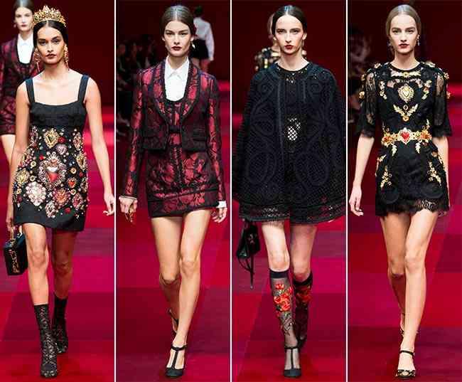 Colecția Dolce & Gabbana pentru primăvara-vara 2015 6