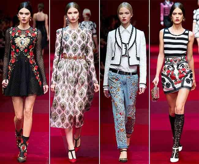 Colecția Dolce & Gabbana pentru primăvara-vara 2015 7