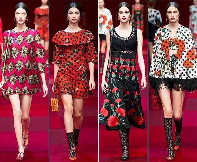 Colecția Dolce & Gabbana pentru primăvara-vara 2015 8