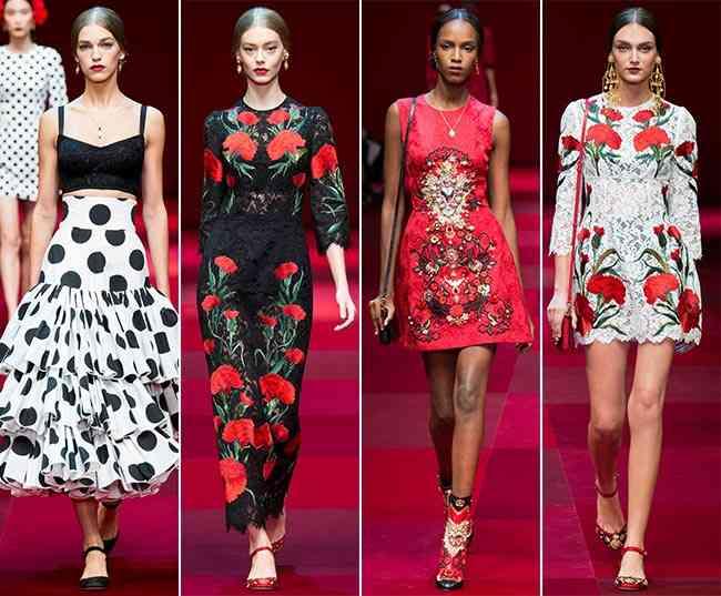 Colecția Dolce & Gabbana pentru primăvara-vara 2015 9
