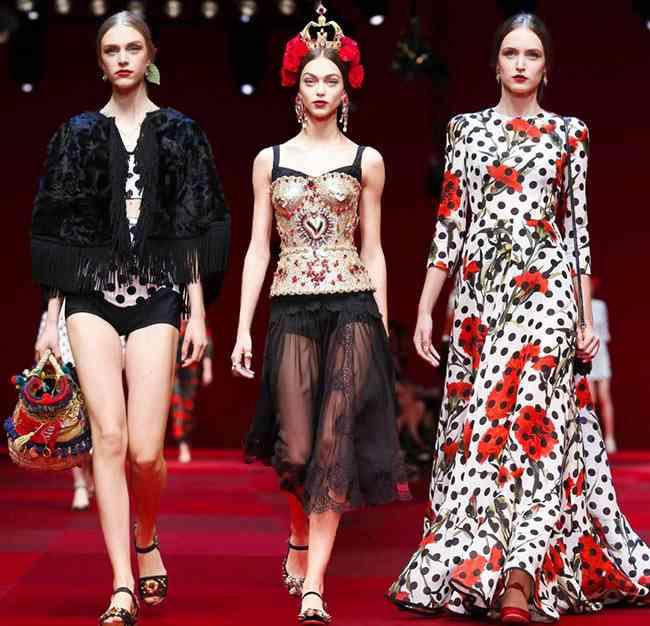 Colecția Dolce & Gabbana pentru primăvara-vara 2015
