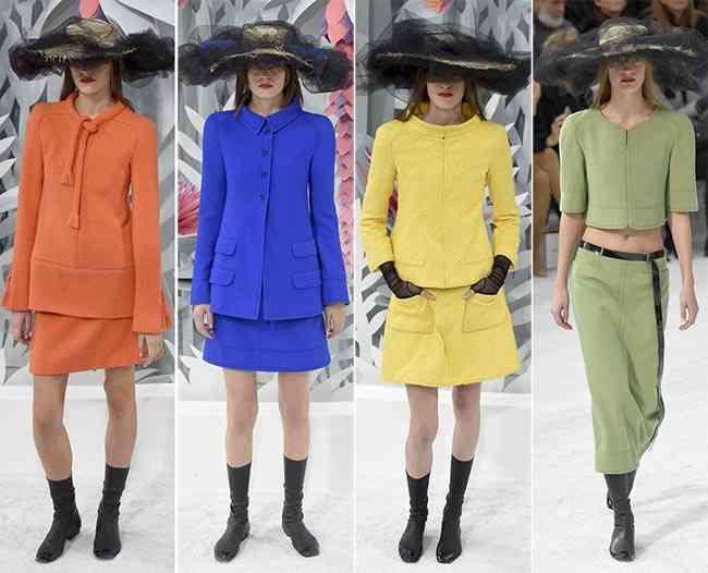 colecția Chanel Couture primăvară - vară 2015