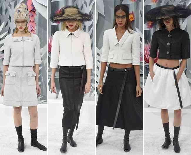 colecția Chanel Couture primăvară - vară 20151