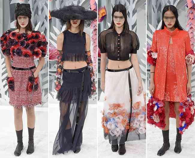colecția Chanel Couture primăvară - vară 201511