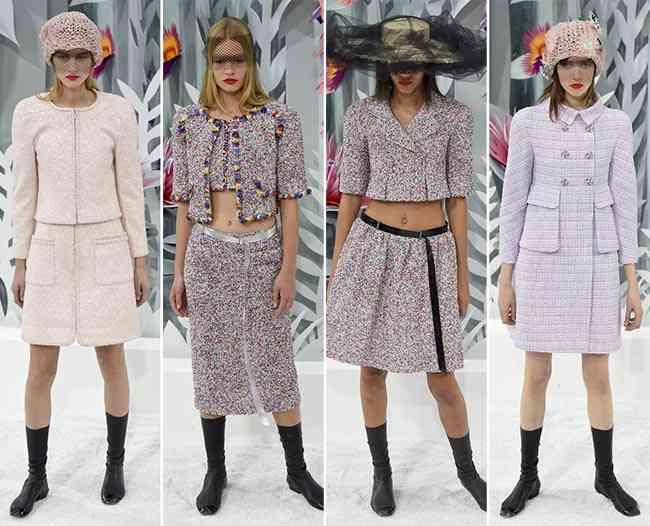 colecția Chanel Couture primăvară - vară 20152