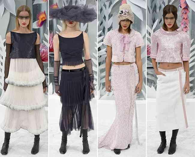 colecția Chanel Couture primăvară - vară 201588