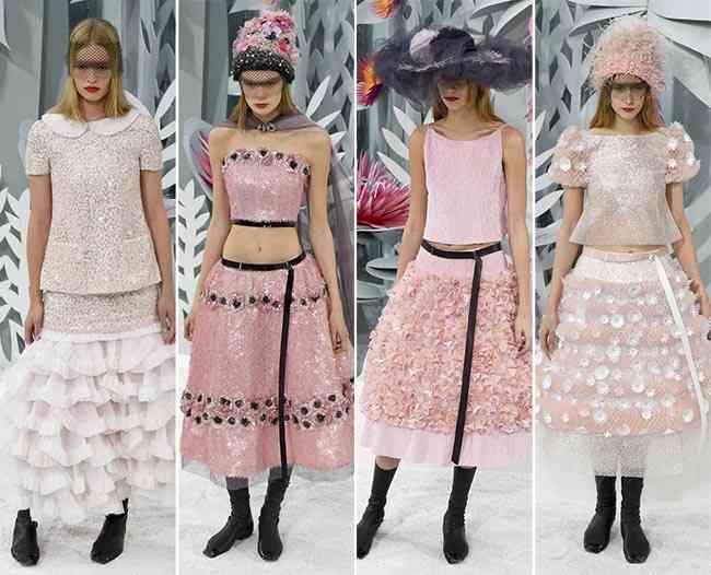 colecția Chanel Couture primăvară - vară 20158888888888