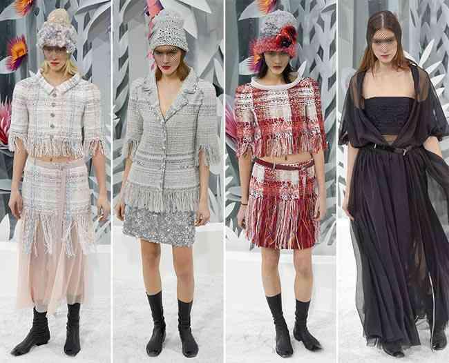 colecția Chanel Couture primăvară - vară 20159