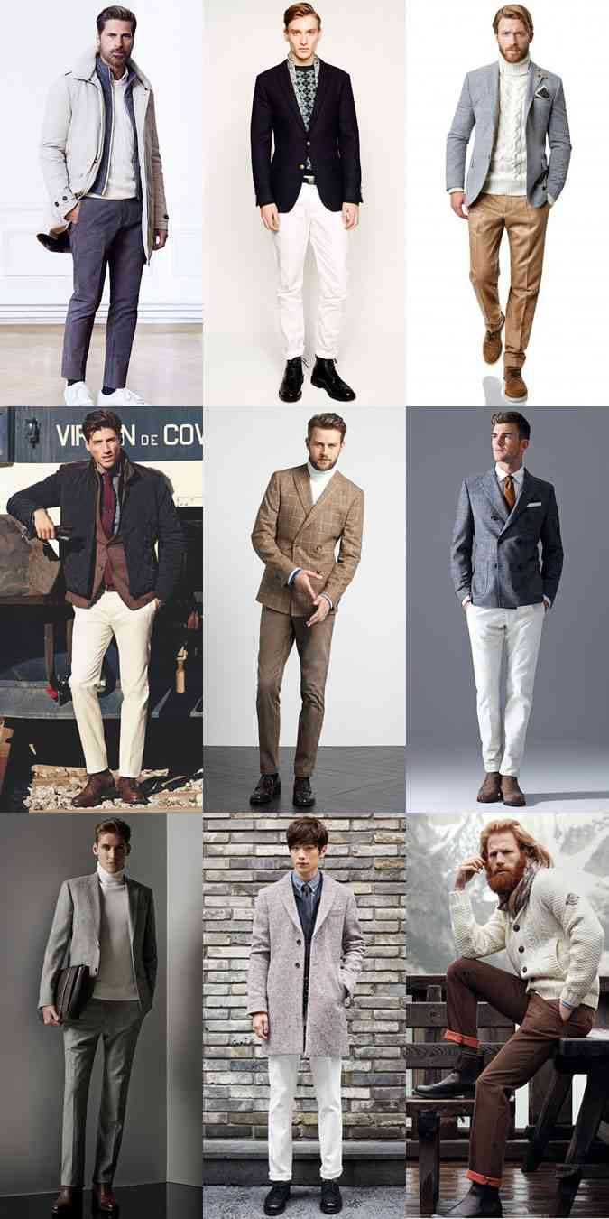 moda 2015 tinute albe iarna