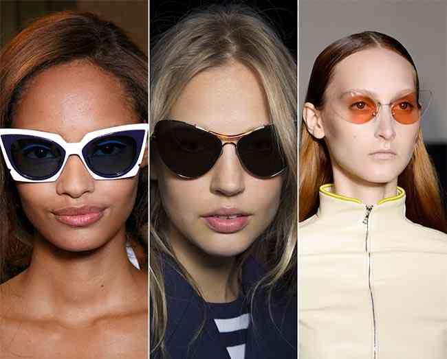 ochelari de soare cat-eye