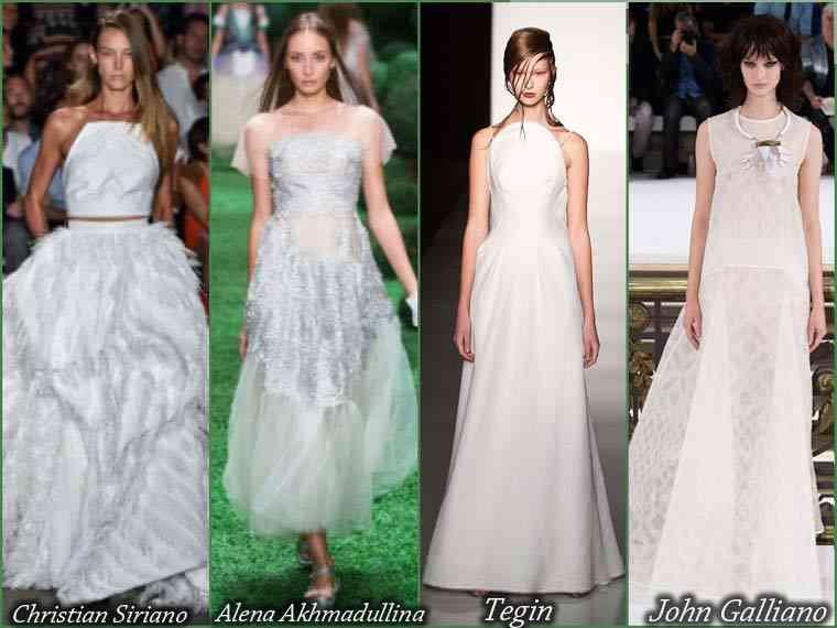 rochii de banchet 2015 alb