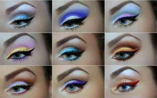 7 machiaj ochi albastri