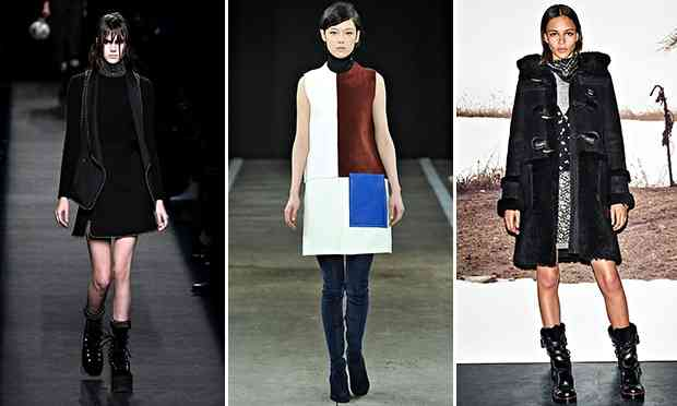 Alexander Wang, Edun and Coach at New York fashion week autumn winter 2014.