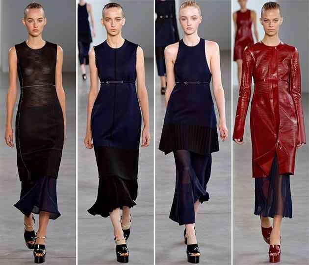 colecția Calvin Klein primăvara - vara 2015