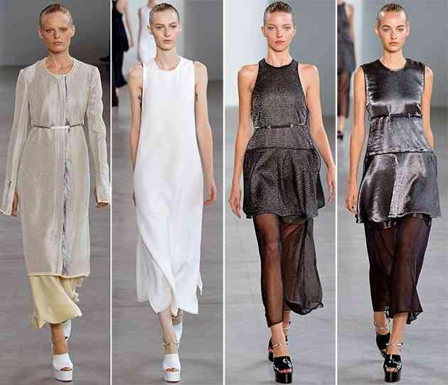 colecția Calvin Klein primăvara - vara 20151