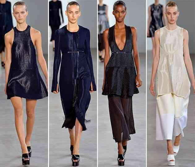 colecția Calvin Klein primăvara - vara 20152