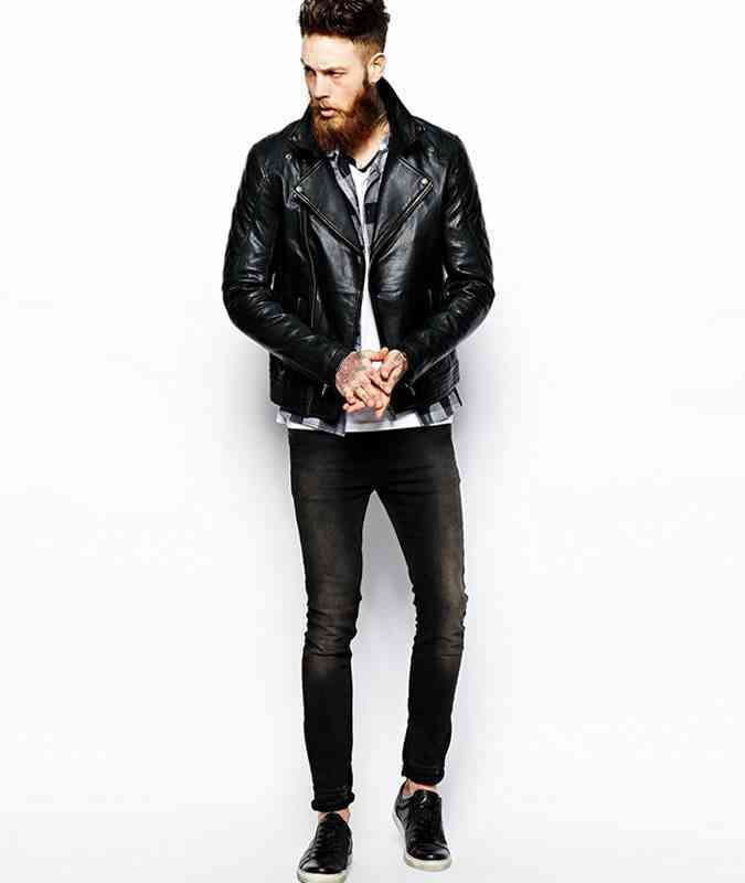 1 haine negre la moda geaca