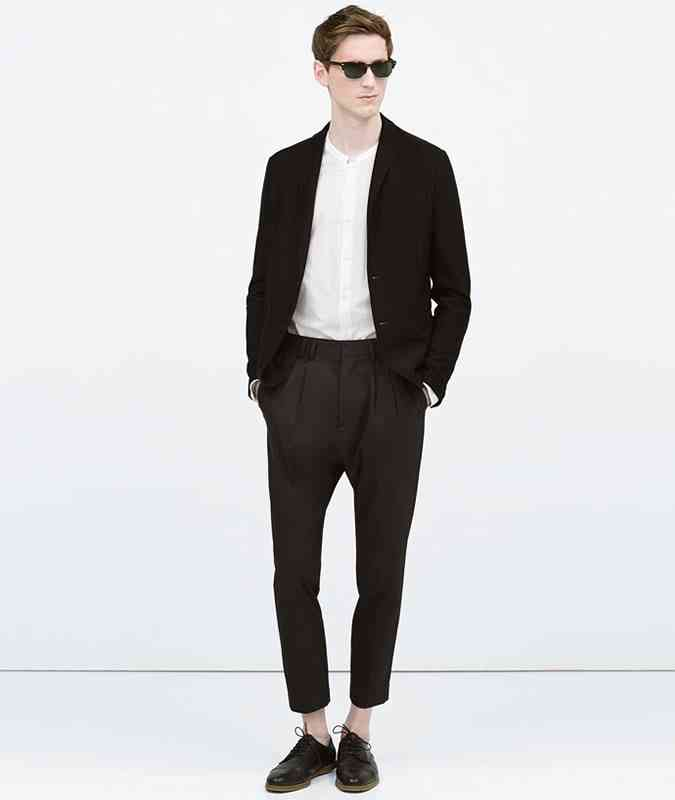 3 haine negre la moda pantaloni