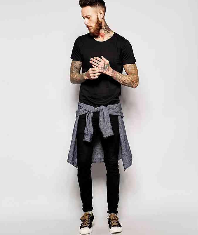 8 haine negre la moda tricou