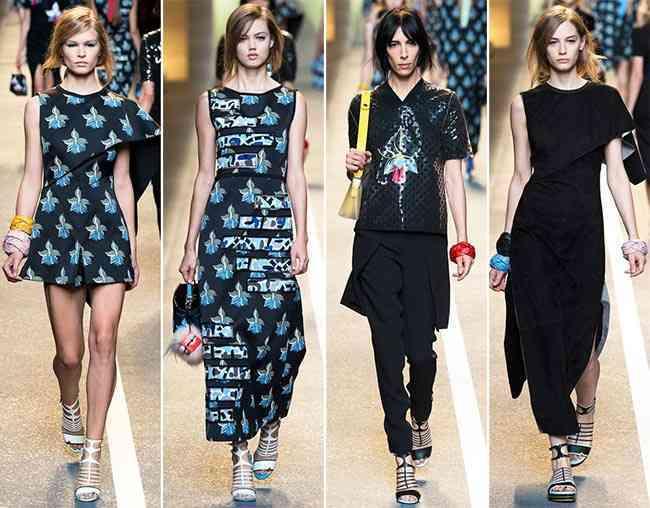 colecția Fendi primăvară- vară 2015 - Milano Fashion Week 1