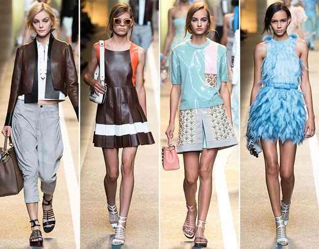 colecția Fendi primăvară- vară 2015 - Milano Fashion Week 5