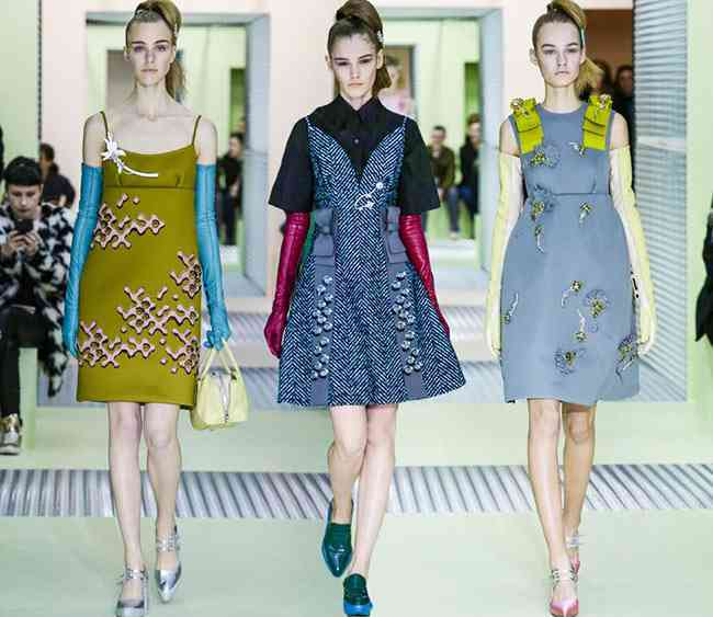 colectia de modă Prada toamnă - iarnă 2015-2016