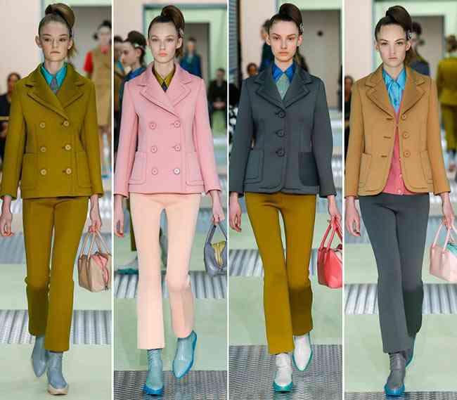 colectia de modă Prada toamnă - iarnă 2015-20161